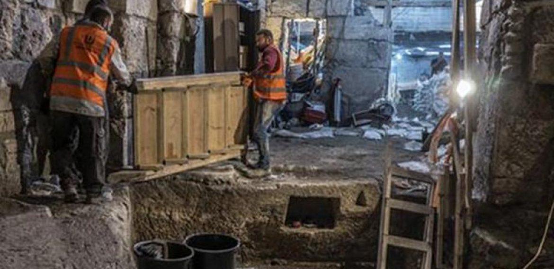 Arqueólogos israelíes descubren un complejo subterráneo de 2.000 años cerca del muro occidental