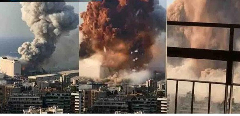 ¡Debes verlo! Así se vivió la terrible explosión de Beirut dentro de algunas casas e iglesias